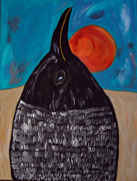 Crow - Original Works by Colleen Hennessy