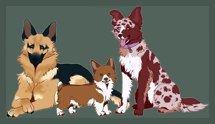 Dog breeds - Witchetka