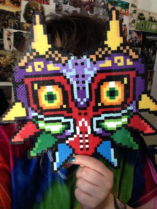 Majora's Mask perler - Skye's Sprites