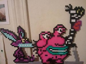 Aaah! Real Monsters perler