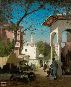 Osmanlı dönemi İstanbul'da karpuzcu,