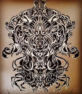 The mind mascarade - Ateiv art