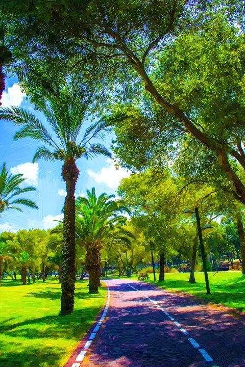 Summer park - slavamalai