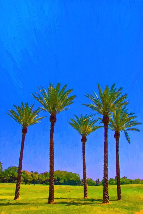 Palm trees - slavamalai