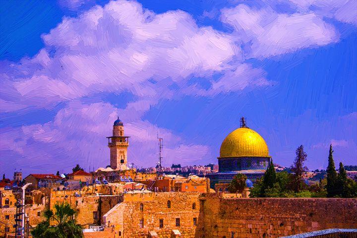 The dome of the rock Jerusalem - slavamalai