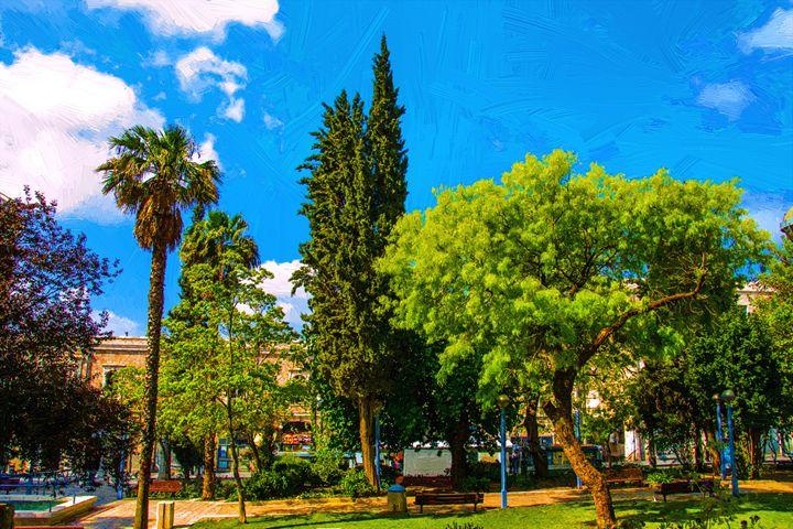 View of Jerusalem Streets - slavamalai