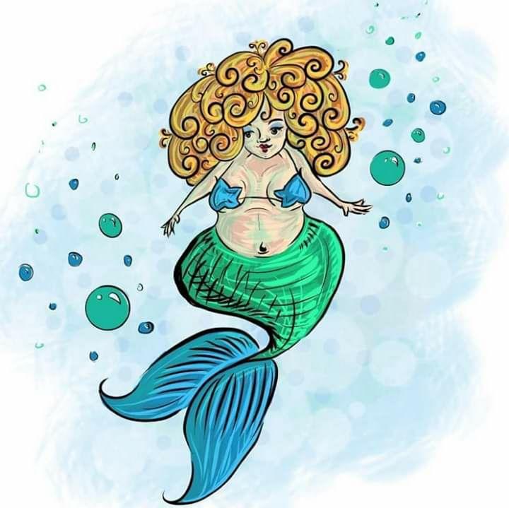 Mermaid - A. P. Illustrations