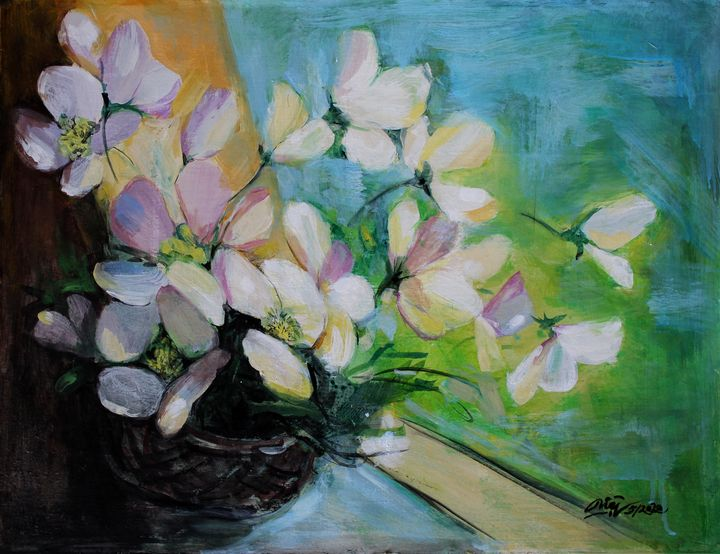 Wild flowers - Loi Hong Diep art