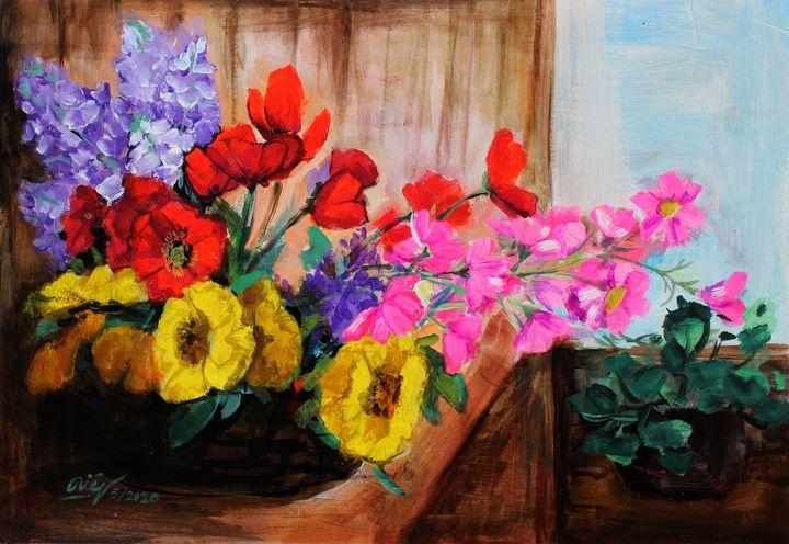 Life is colorful - Loi Hong Diep art