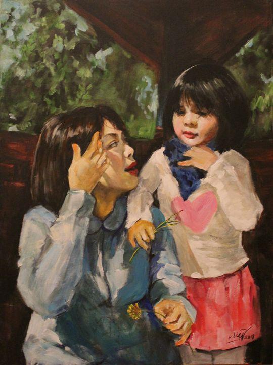 Delight moments - Loi Hong Diep art