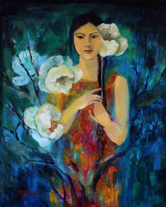 Night flowers - Loi Hong Diep art