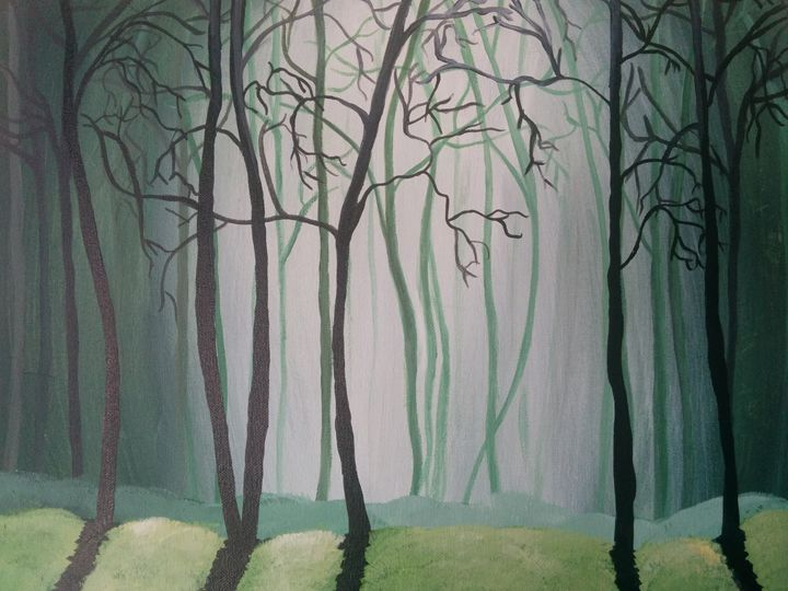 Misty Forest - Ruchi's Creations