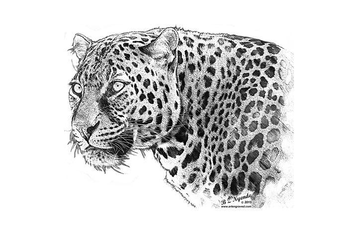 Leopard - Art Engraved