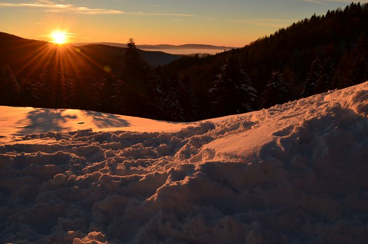 Sunset in the Carpathians - ValiD