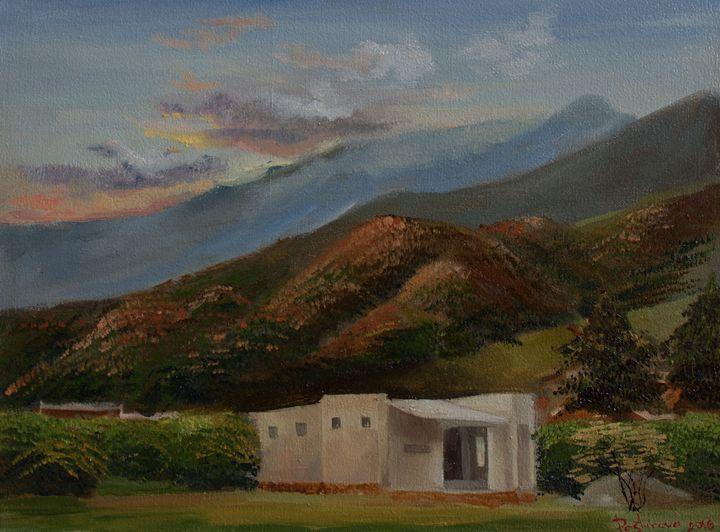 Sunset in Colombia - Alyona Pastuhova