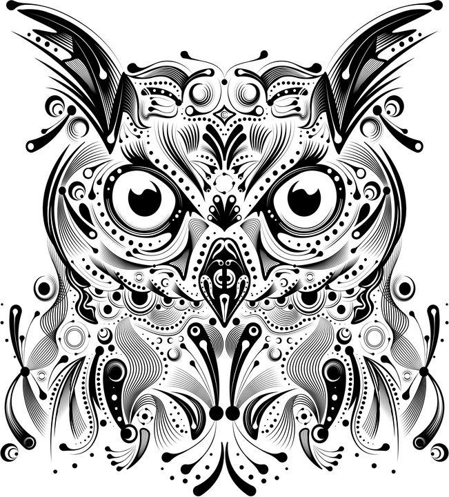 doodle owl - Ancello