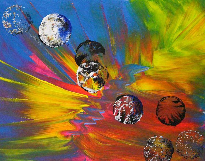 Orb in the sky 1 - KC art gallery