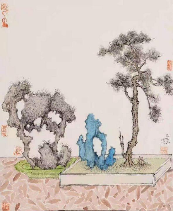 Asian art - asian painting