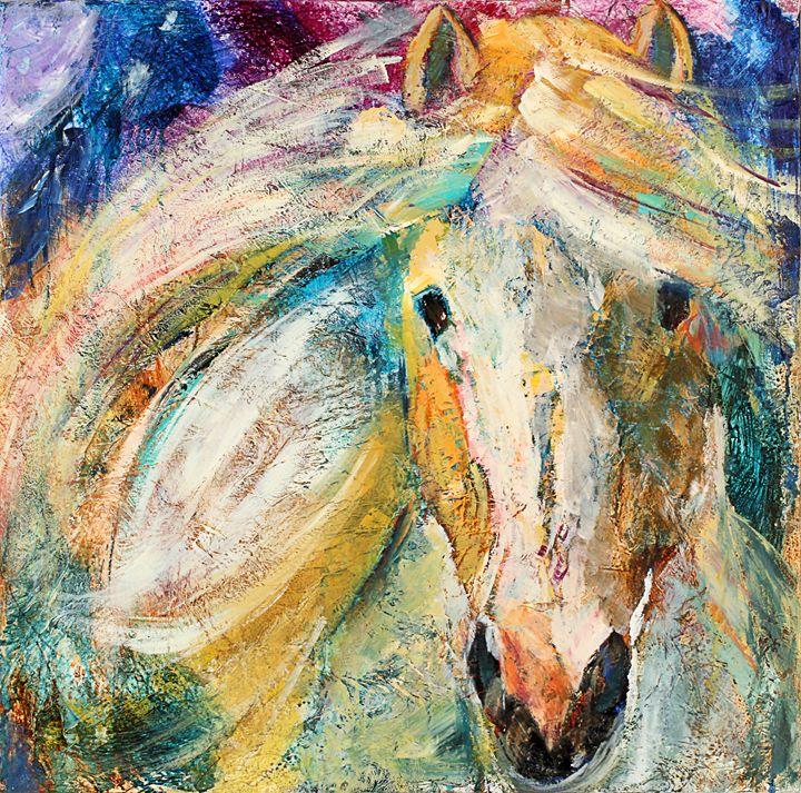 Running Horse - Spellbound Art by Julia Vigil