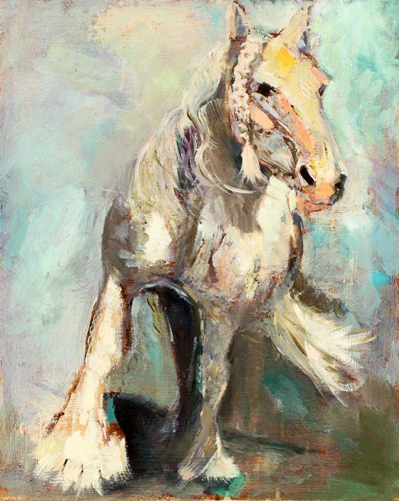 Running Gypsy - Spellbound Art by Julia Vigil