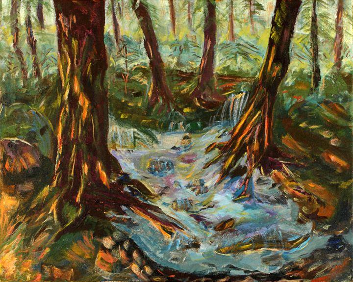Forest Floor - Spellbound Art by Julia Vigil