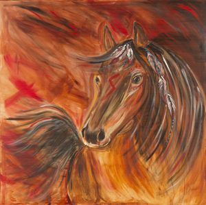Shape changer horse