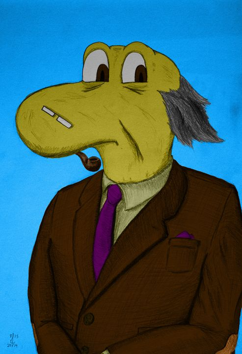 Professor Albert Stonesworth - Funkomancer's Groovatorium