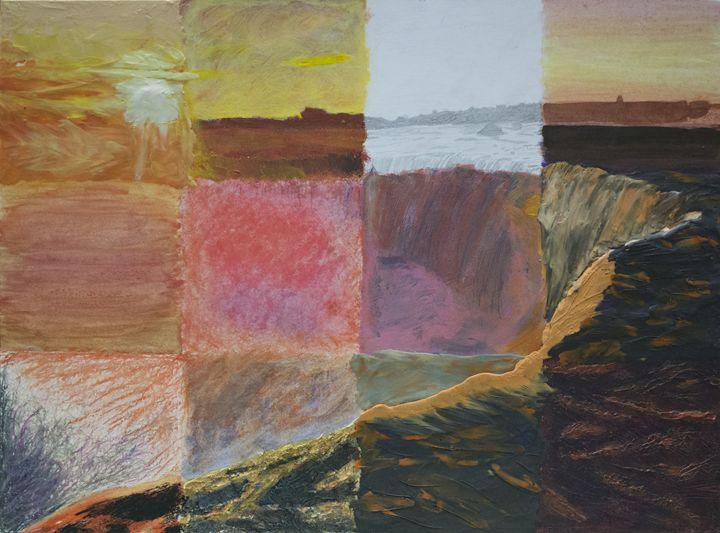 Niagara Falls at Sunset - Funkomancer's Groovatorium