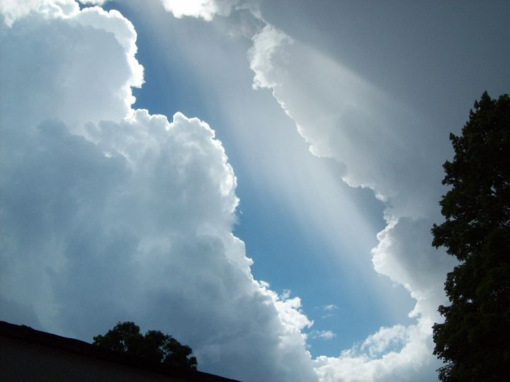 Sky Opens Up - Art by Miksharac