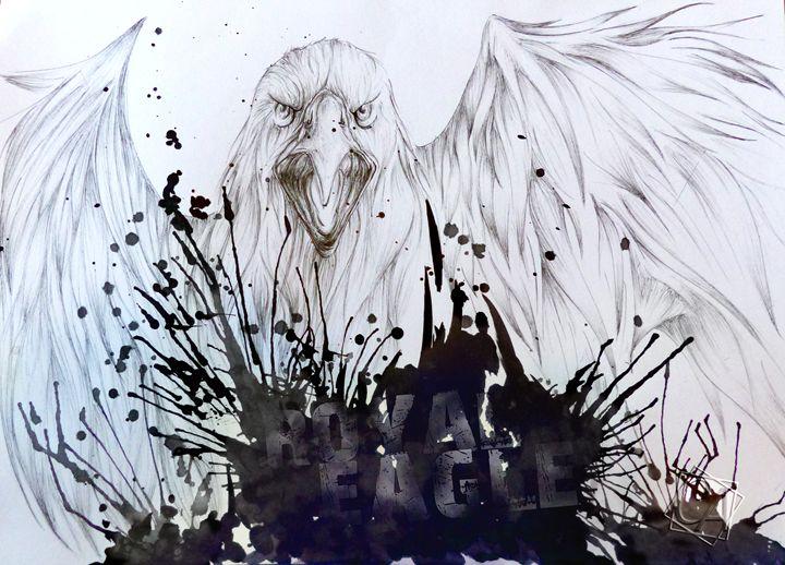 Royal Eagle - Creation Art Graphic