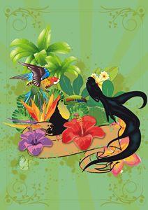 Exotics Birds - Creation Art Graphic