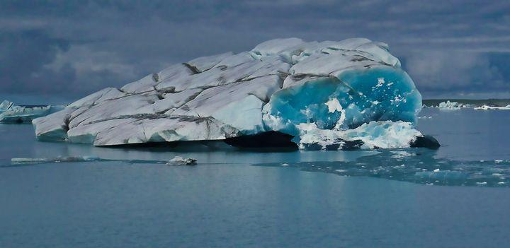 Iceberg off the Bering Glacier. - Mark Hill
