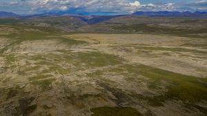 Canol Trail, Abraham Plains