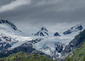 Thompson Glacier Alaska
