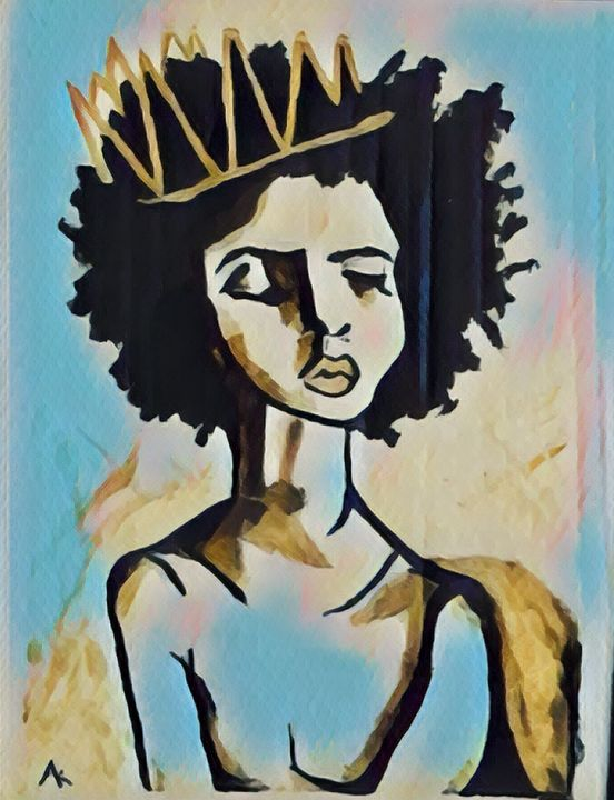 Ode to the black queen - Amié