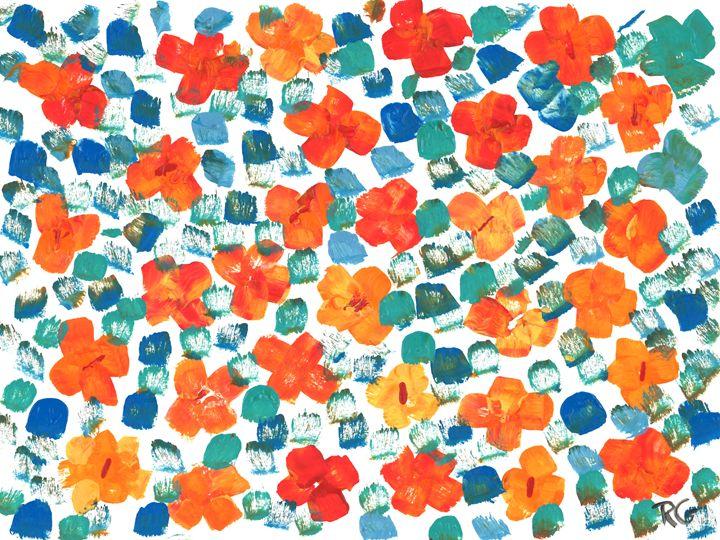 Summer Blossoms - Rachael Mendonsa Gilchrist