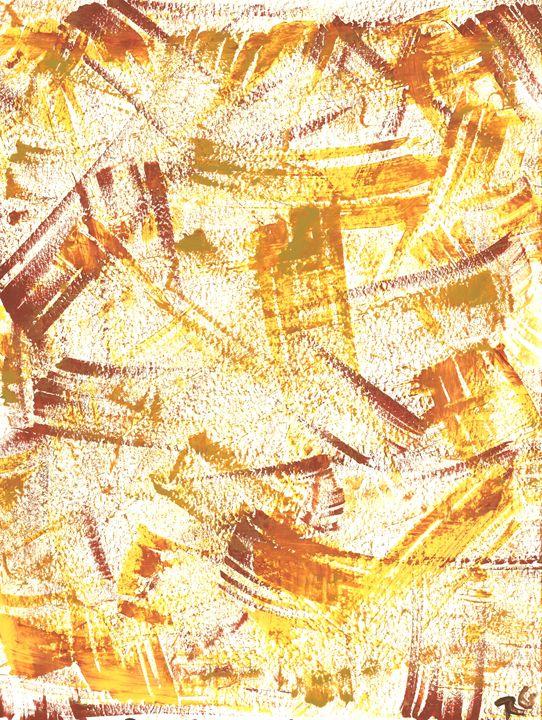 Textured Retro in Gold - Rachael Mendonsa Gilchrist