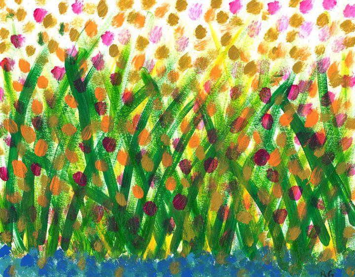 Dancing Flowers - Rachael Mendonsa Gilchrist