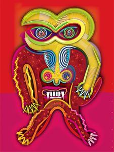 Angry Mandrill | 2012