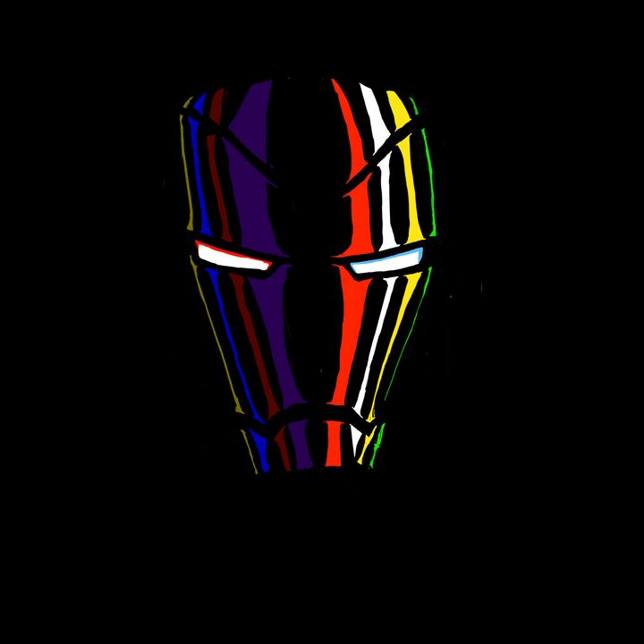 A colorful Iron Man - Doug Duncan