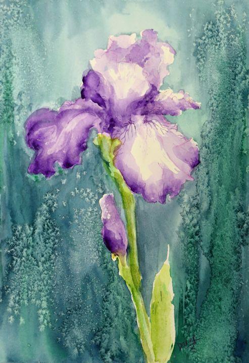 New Purple Iris - Sara