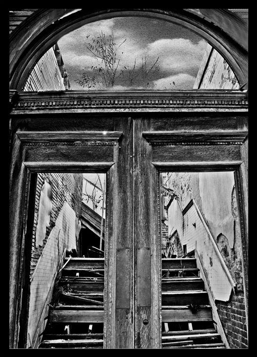 Haunted Foyer or Not - Perpetiel Art