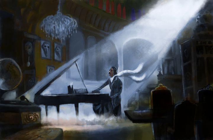 the pianist - e.coffee