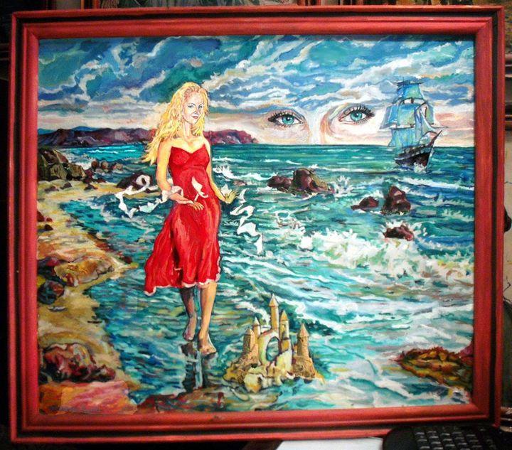 God is looking through your eyes - vranceanu aurelian