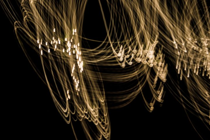 Dancing Night Lights - Mary Ann's Works of Art