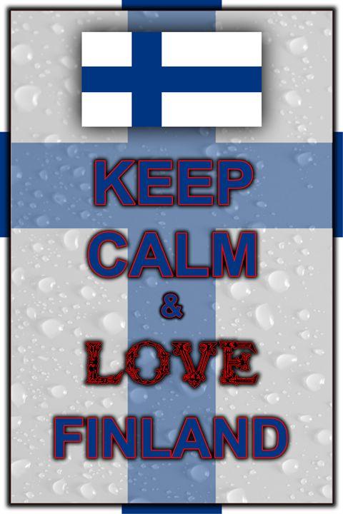 Keep Calm and Love Finland - ArtDesign1978