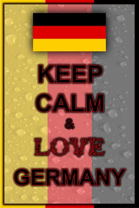 Keep Calm and Love Germany - ArtDesign1978