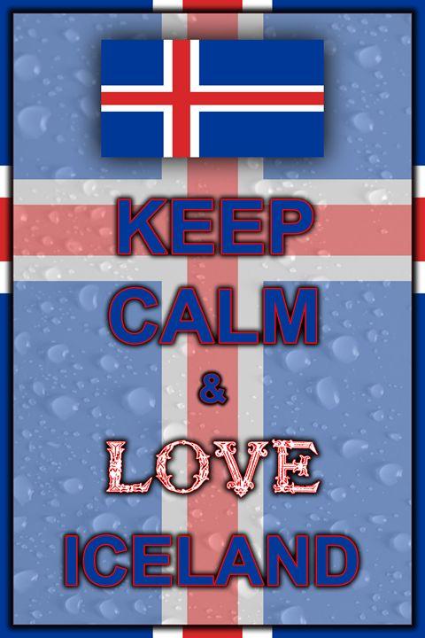 Keep Calm and Love Iceland - ArtDesign1978
