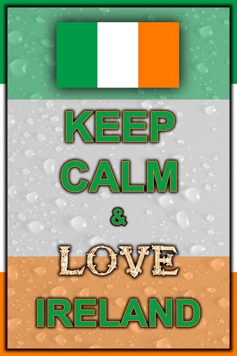 Keep Calm and Love Ireland - ArtDesign1978