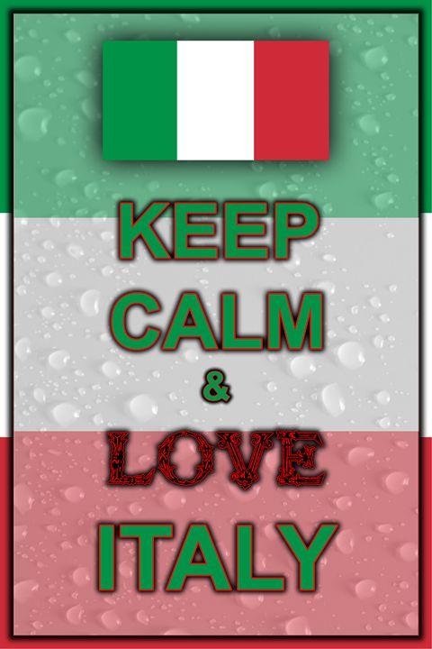 Keep Calm and Love Italy - ArtDesign1978